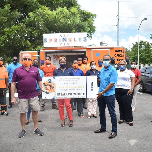 Apex Management Services Ltd gives back to the Bahamas Waste